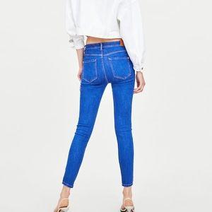 """Zara Jeans - Zara """"vintage"""" high rise skinny jeggings"""